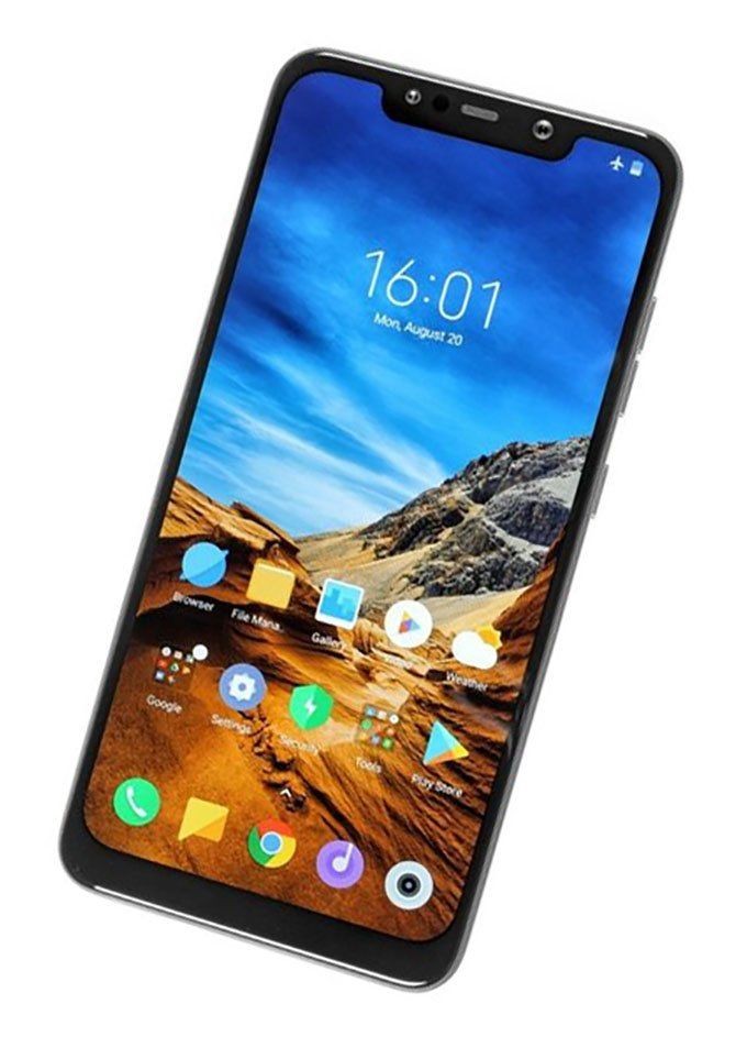 LCD Дисплей + Тъч Скрийн за Xiaomi Pocophone F1 Черен - за