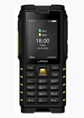 SIGMA mobile X-treme DZ68 Black Yellow
