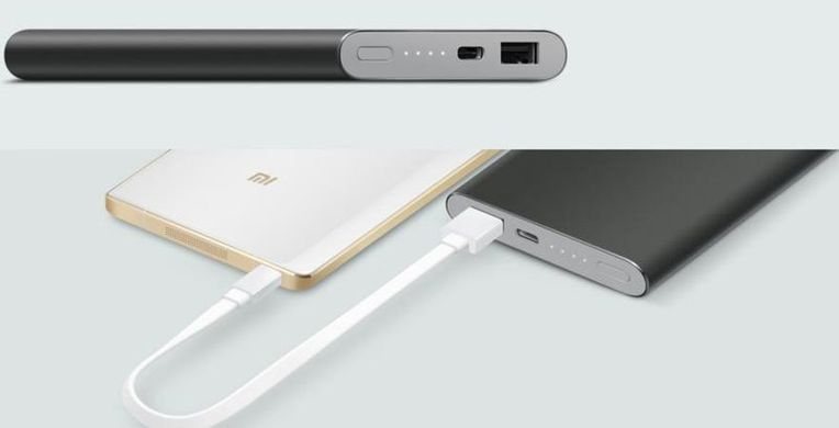 Xiaomi Mi Power Bank 10000mAh Type-C Gray Pro PLM01ZM