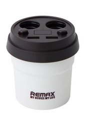 Розгалужувач 12V Remax Demitasse Car Charger CR-2XP