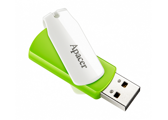 Apacer 64 GB AH335 Green/White (AP64GAH335G-1)