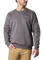 1884931-023 S Джемпер мужской Columbia Logo Fleece Crew серый р.S