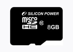 micro SD 8Gb Silicon