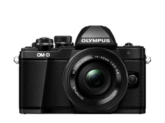 Olympus OM-D E-M10 Mark II kit (14-42mm) Pancake Zoom Black