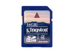 SD 16Gb Kingston Hi Speed