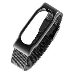 Ремінець Xiaomi Mi Band 2 Steel design Black