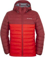 1693931-697 S Куртка чоловіча Powder Lite™ Hooded Jacket червоний ... caaf04e735964
