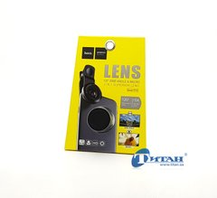 Фотоадаптер Hoco PH5 Eagle Eyes Wide-Angle Macro Lens Black