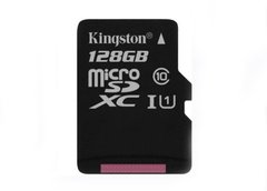 micro SD 128Gb Kingston Hi Speed (80mb/s)