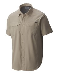 1654311-160 S Сорочка чоловіча Silver Ridge Lite™ Short Sleeve Shirt Men's Shirt бежевий р.S