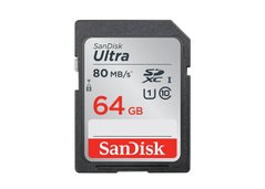 SD 64Gb SanDisk Ultra (80Mb/s,533x) Hi Speed