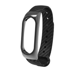 Ремешок Xiaomi Mi Band 2 Carbon Fiber Design Black