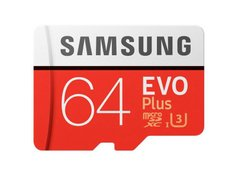 micro SD 64Gb Samsung Evo Plus Hi Speed U3(R-100,W-60mb/s)